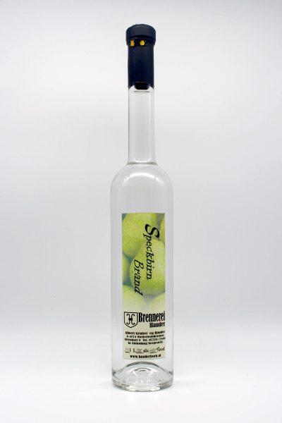 Speckbirn Brand